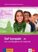 DaF kompakt A1 Kurs-/Übungsbuch mit 2 Audio-CDs