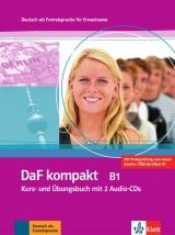DaF kompakt B1, Kurs-/Übungsbuch mit 2 Audio-CDs