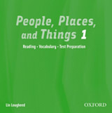 People, Places and Things 1 Audio CD