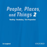 People, Places and Things 2 Audio CD