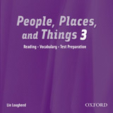 People, Places and Things 3 Audio CD