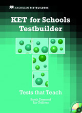 KET for Schools Testbuilder Student´s Book Pack