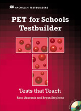 PET for Schools Testbuilder Student´s Book Pack