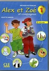 ALEX ET ZOE 1 CD/2/ CLASSE