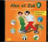 ALEX ET ZOE 2 CD AUDIO INDIVIDUEL