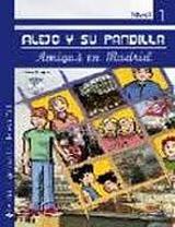 Alejo y su pandilla 1 En Madrid - Libro + CD