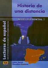 Lecturas graduadas Elemental Historia de una distancia - Libro