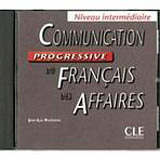 Communication progressive du francais des affaires - CD audio