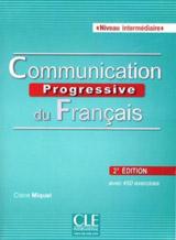 Communication progressive du français intermédiaire Livre + CD - 2?me