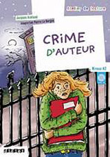 ATELIER DE LECTURE A2 CRIME D´AUTEUR LIVRE + CD AUDIO