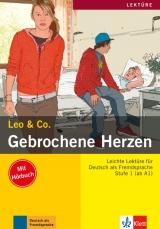Leo und Co. Stufe 1 Gebrochene Herzen Buch mit Audio CD