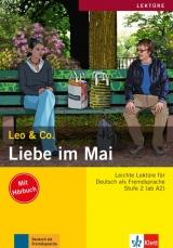 Leo und Co. Stufe 2 Liebe im Mai Buch mit Audio CD