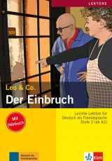 Leo und Co. Stufe 2 Der Einbruch Buch mit Audio CD