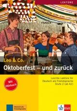 Leo und Co. Stufe 2 Oktoberfest - und zurück Buch mit Audio CD