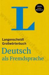 Langenscheidt Grosswörterbuch Deutsch Als Fremdsprache mit Online-Anbindung (hardcover)
