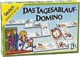 DAS TAGESABLAUF-DOMINO