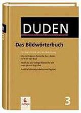 DUDEN Band 3 - DAS BILDWÖRTERBUCH DER DEUTSCHEN SPRACHE