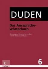 Duden Band 6 - Das Aussprachewörterbuch (7. Auflage)