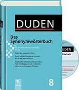 DUDEN Band 8 - SYNONYMWÖRTERBUCH + CD-ROM