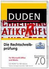 DUDEN-RECHTSCHREIBPRÜFUNG FÜR MICROSOFT OFFICE UND WORKS