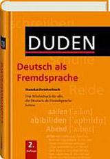 DUDEN - STANDARDWÖRTERBUCH DaF /2.A/