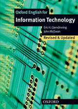 OXFORD ENGLISH FOR INFORMATION TECHNOLOGY New Edition STUDENT´S BOOK