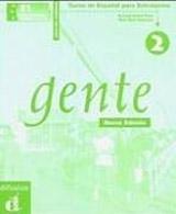 Gente 2 Nueva Edición – Libro del profesor