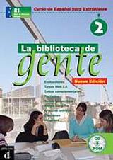 La Biblioteca de Gente 2 DVD-ROM + Guía