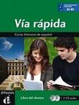 Via rápida libro del alumno + CD A1-B1