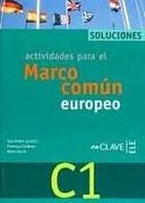 Actividades para el MCER C1 - Solucionario C1