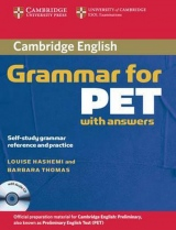 CAMBRIDGE GRAMMAR FOR PET WITH KEY + CD
