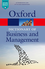 OXFORD DICTIONARY OF BUSINESS AND MANAGEMENT 6th Edition