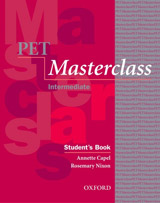 PET MASTERCLASS INTRODUCTORY MODULE STUDENT´S BOOK PACK