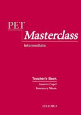PET MASTERCLASS TEACHER´S BOOK