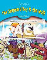 Storytime 1 The Shepherd Boy & the Wolf - Pupil´s Book + audio CD/DVD PAL