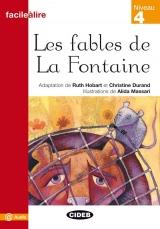 BLACK CAT FACILE A LIRE 4 - LES FABLES DE LA FONTAINE