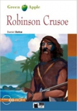 BLACK CAT READERS GREEN APPLE EDITION 1 - ROBINSON CRUSOE + CD-ROM