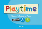Playtime Starter, A & B Teacher´s Resource Pack