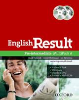 English Result Pre-Intermediate MultiPACK A