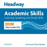 Headway Academic Skills 1 Listening & Speaking Class Audio CDs (2)