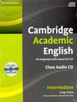 Cambridge Academic English B1+ Class Audio CD and DVD Pack