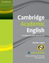 Cambridge Academic English B1+ Teacher´s Book