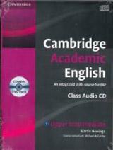 Cambridge Academic English B2 Class Audio CD and DVD Pack