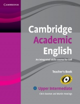 Cambridge Academic English B2 Teacher´s Book