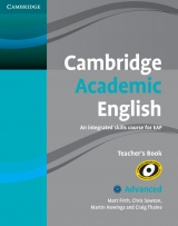 Cambridge Academic English C1 Teacher´s Book