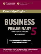 Cambridge BEC 5 Preliminary Student´s Book with answers