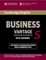 Cambridge BEC 5 Vantage Student´s Book with answers
