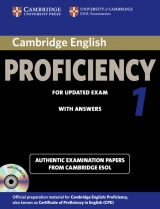 Cambridge CPE for updated exam 1 Self-study Pack (Student´s Book with Answers & Audio CDs (2))