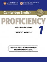 Cambridge CPE for updated exam 1 Student´s Book without Answers