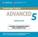 Cambridge English Advanced 5 Audio CDs (2)